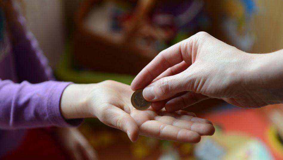 Geld von Mama