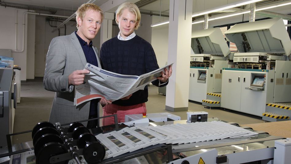 """""""Niiu""""-Gründer Tiedemann und Oberhof: Mit einem Klick zum eigenen Blatt"""