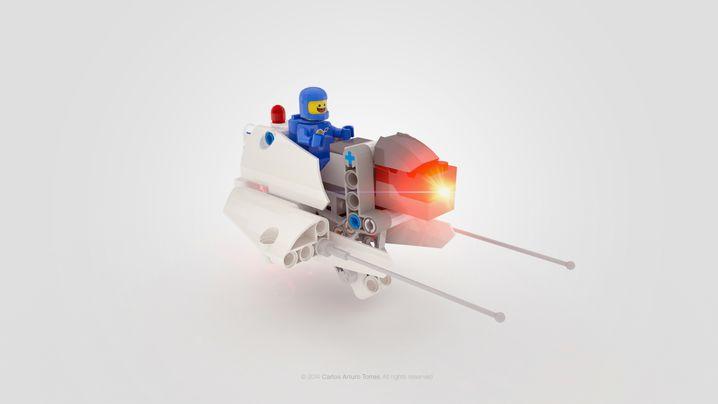 Raumschiff für die Armprothese: Das Kind kann entscheiden, wie sein Arm aussehen und was er können soll