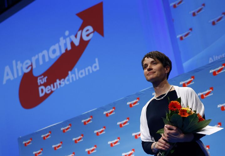 Frauke Petry, head of right-wing populist party Alternative for Germany