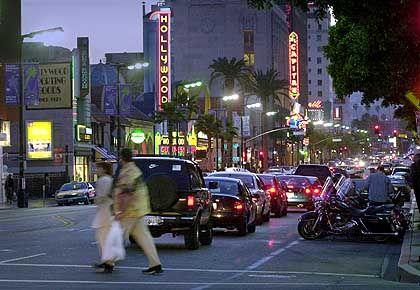 Hollywood Boulevard: Drive, don't walk