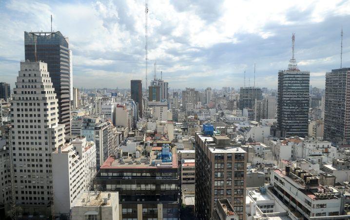 Blick auf Bueons Aires