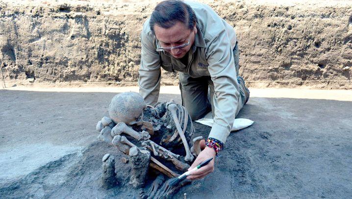 Mexiko City: Gräber von elf Kleinkindern entdeckt