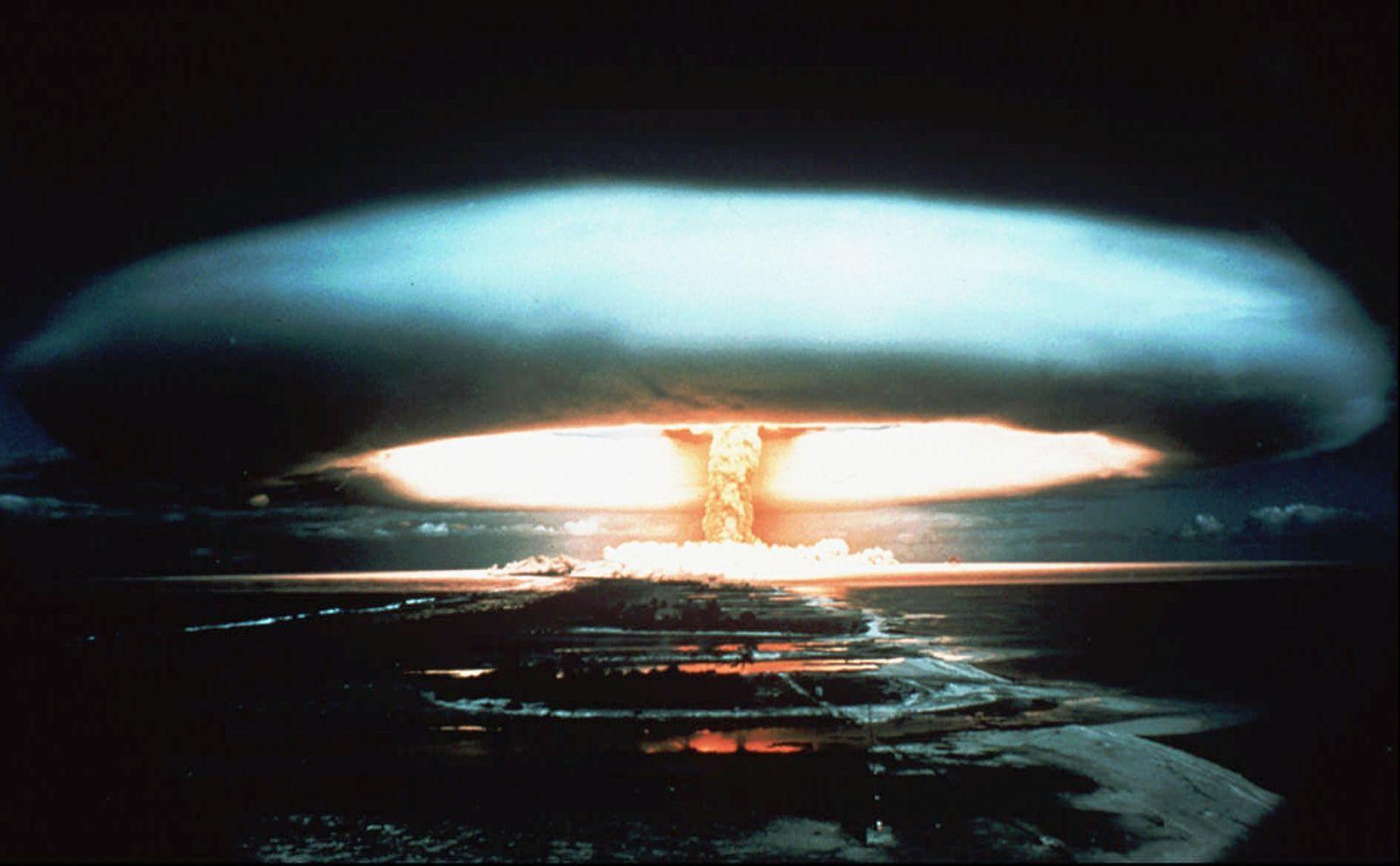Moruroa Atoll/ Atomtests