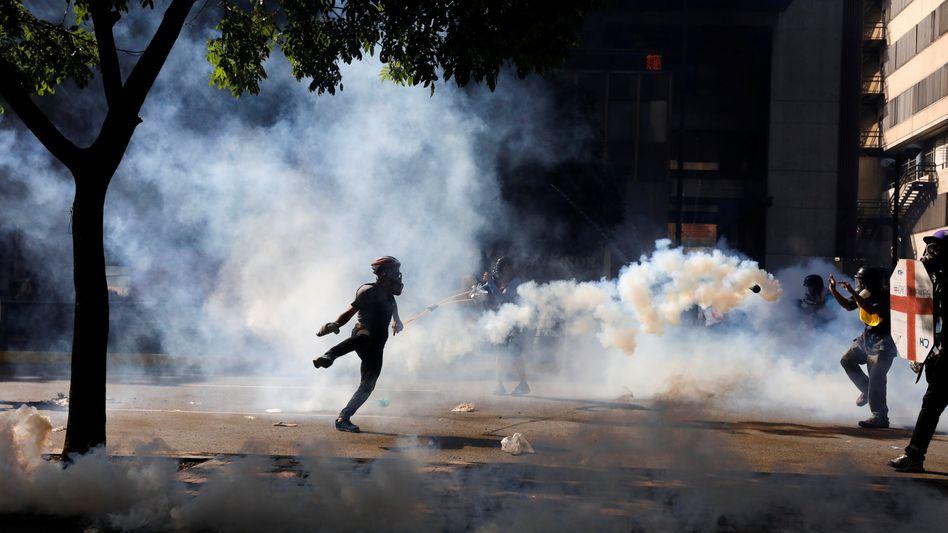 """""""Marsch der Millionen"""": Hunderttausende Venezolaner protestieren gegen Regierung"""