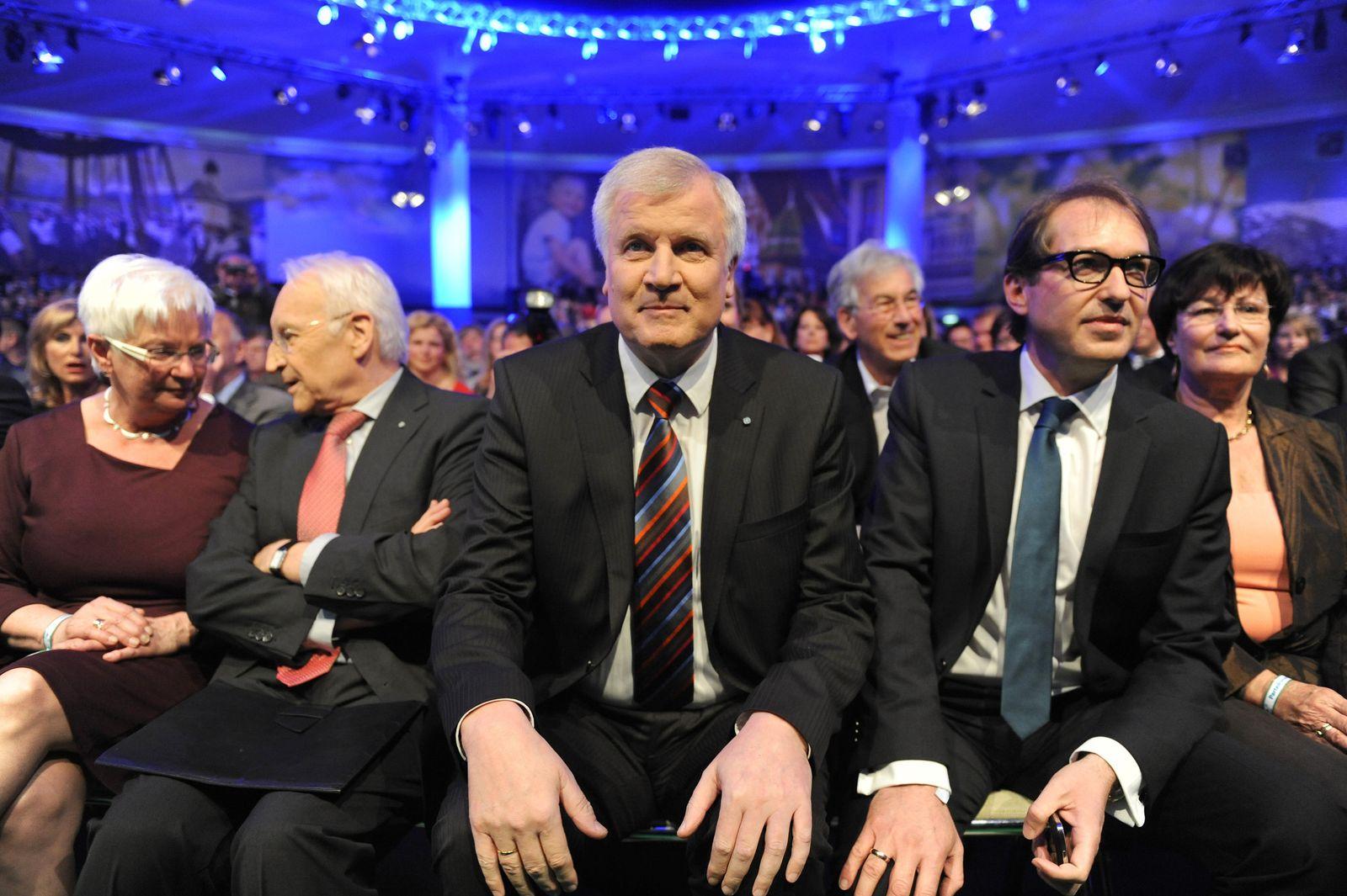 Parteikonvent der CSU Seehofer