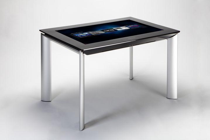 XXL-Tablet: Bis zu fünf Personen können das SUR 40 von Samsung gleichzeitig bedienen