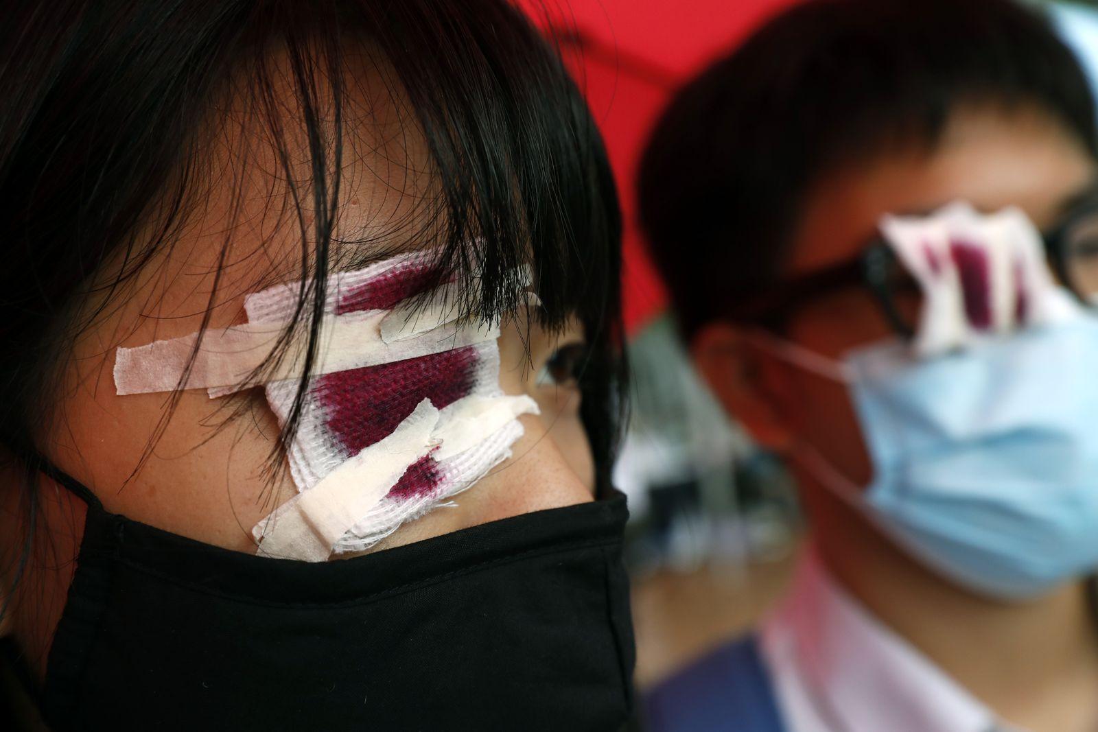 Hong Kong/ Proteste/ Schüler