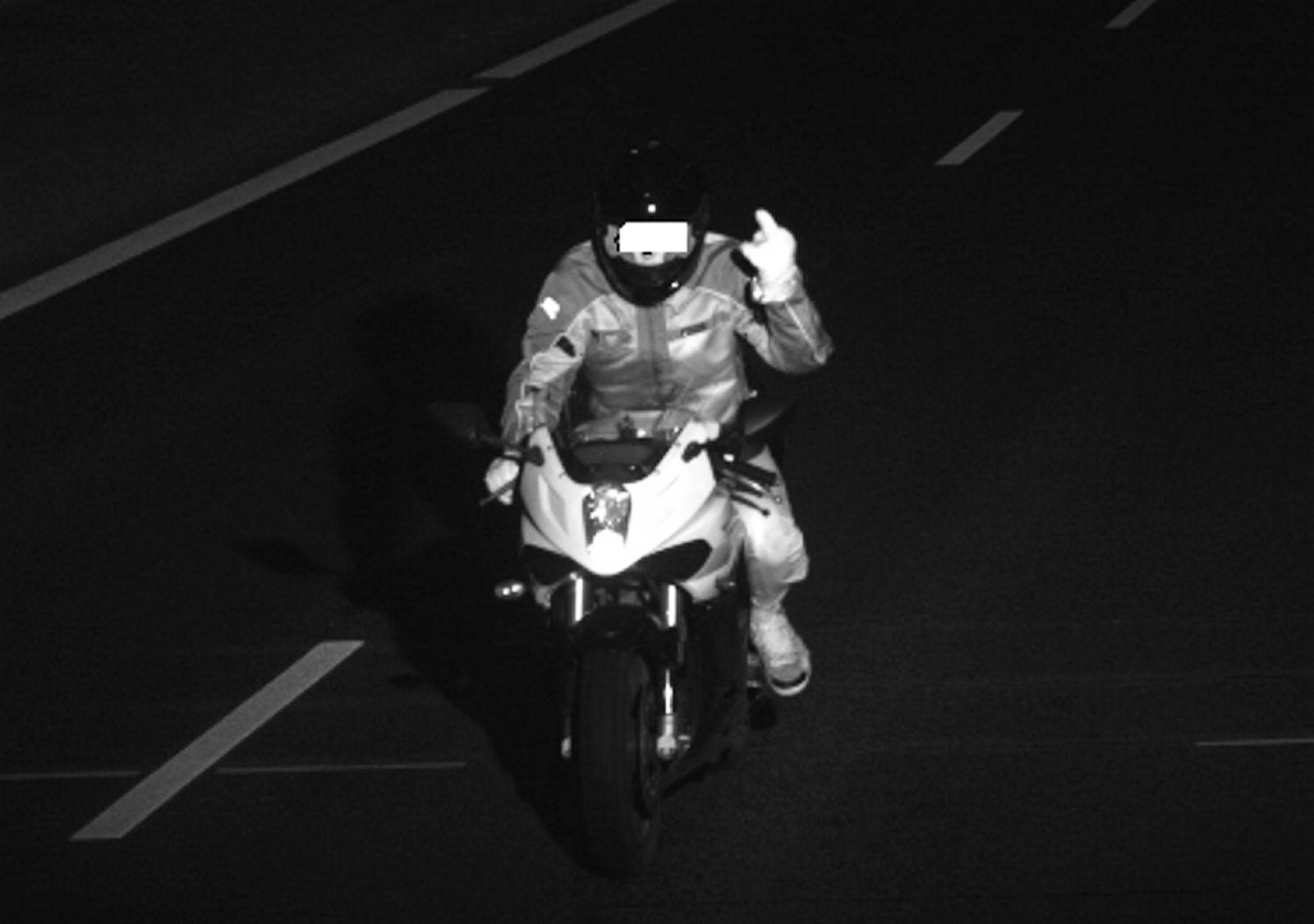 EINMALIGE VERWENDUNG Motorrad / Symbol