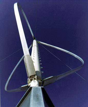Darrieus-Rotor: Ehemalige Testanlage der Firma Dornier