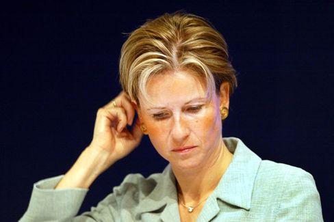 Quandt-Erbin Klatten (Archivbild von 2003): Im Januar erstattete die öffentlichkeitsscheue Milliardärin nach Angaben ihres Sprechers Anzeige