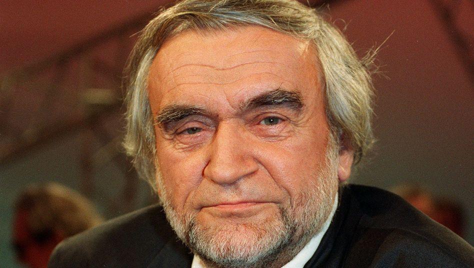 Gerhard Zwerenz (bei Talkshow-Auftritt 1994): Autor und (Kurzzeit-) Abgeordneter