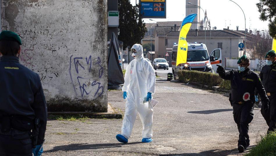 Epidemie im Norden des Landes: Das Virus trifft ins Herz der italienischen Wirtschaft