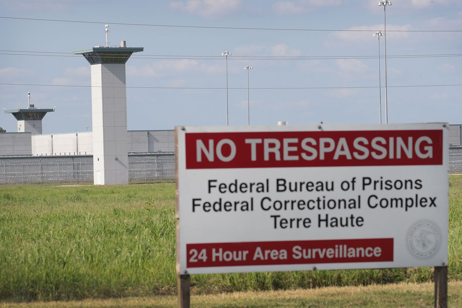 Department Of Justice Orders First Federal Executions At U.S. Penitentiary Terre Haute In Indiana