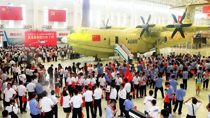 Rekordwasserflugzeug: Zu Wasser und in der Luft