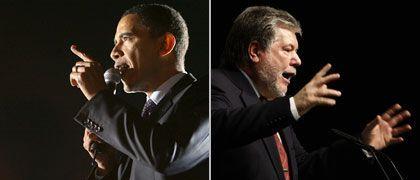 Chancenreiche Kandidaten hüben und drüben: Barack Obama und SPD-Chef Kurt Beck