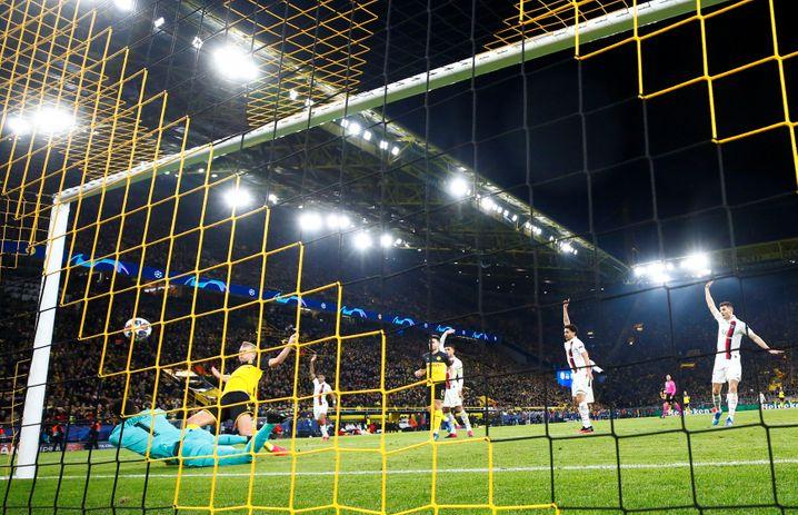Haalands Treffer zum 1:0, Navas war chancenlos