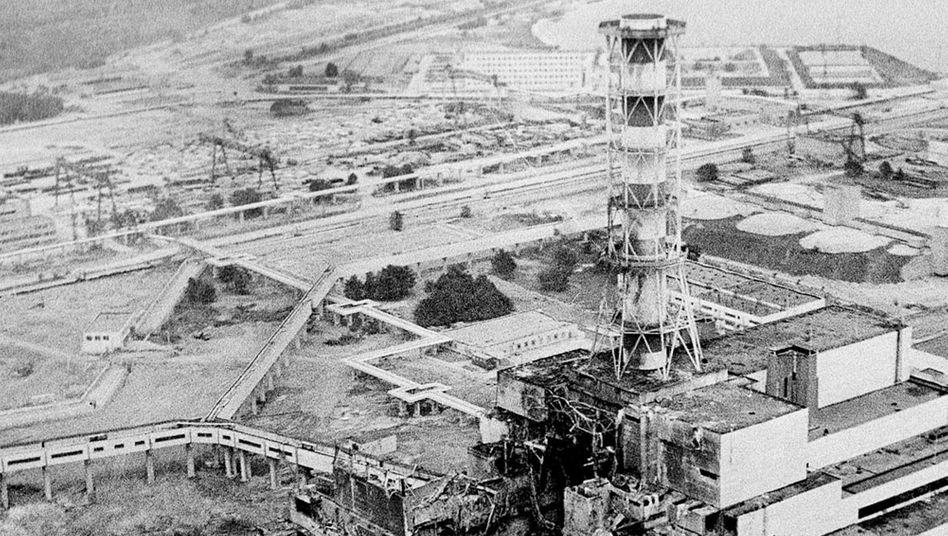 Atomreaktor Tschernobyl 1986