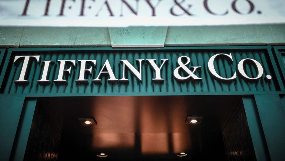 Shop von Tiffany's in Paris