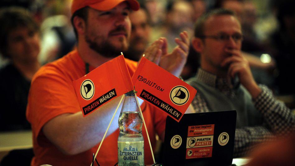 Piratenparteitag: Union und FDP zeigen sich nervös gegenüber den Newcomern