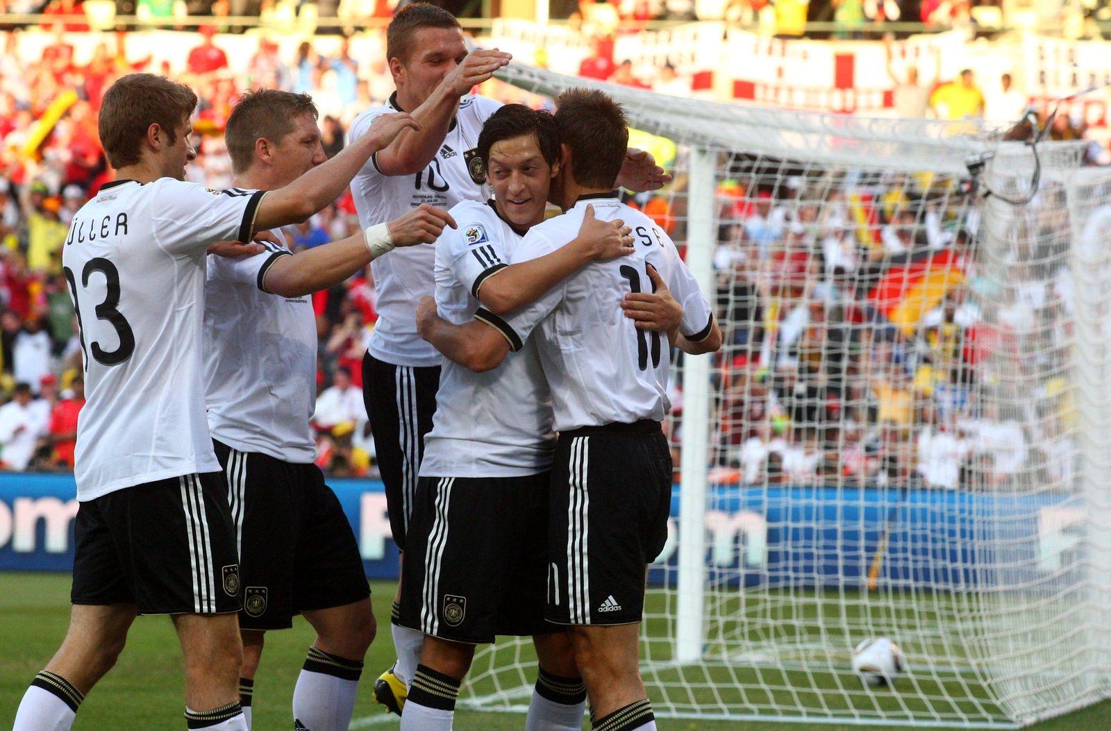 WM 2010 - Deutschland - England