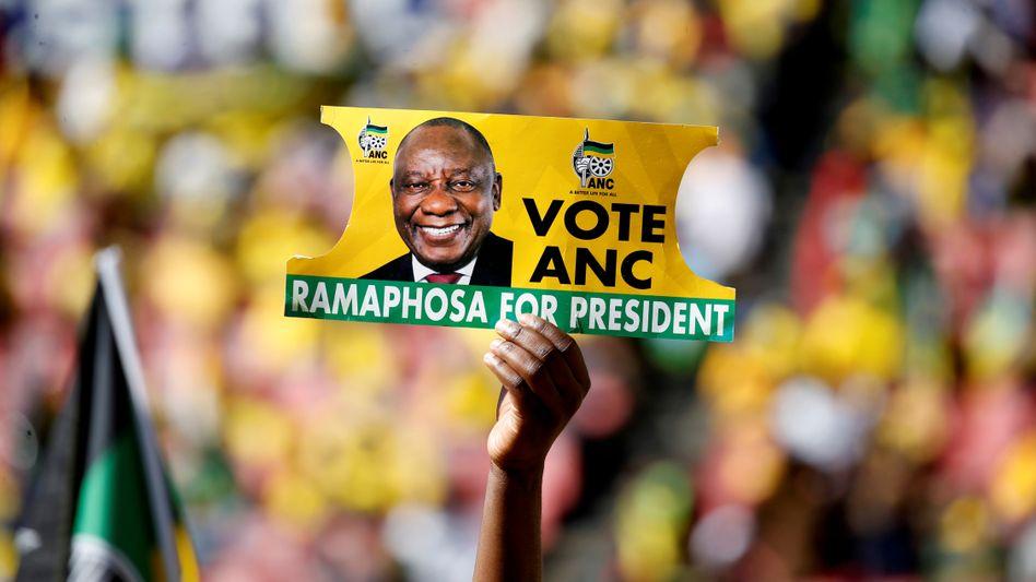 Geschafft: Cyril Ramaphosas ANC hat Südafrikas Wahl gewonnen