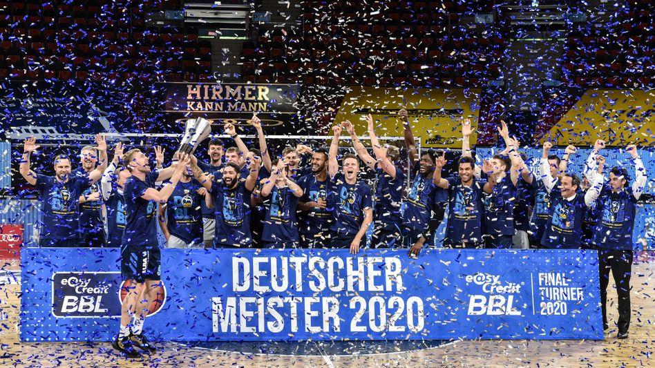 Alba Berlin feierte den ersten Meistertitel seit 2008