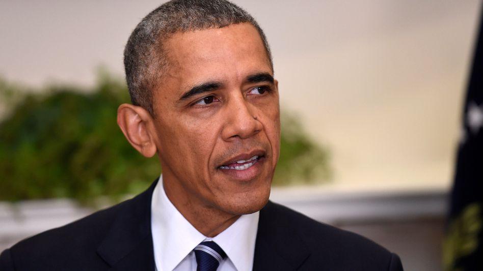 """US-Präsident Obama: """"Nicht im nationalen Interesse"""""""