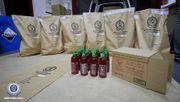 400 Kilo Chrystal Meth in Chilisoßenflaschen entdeckt