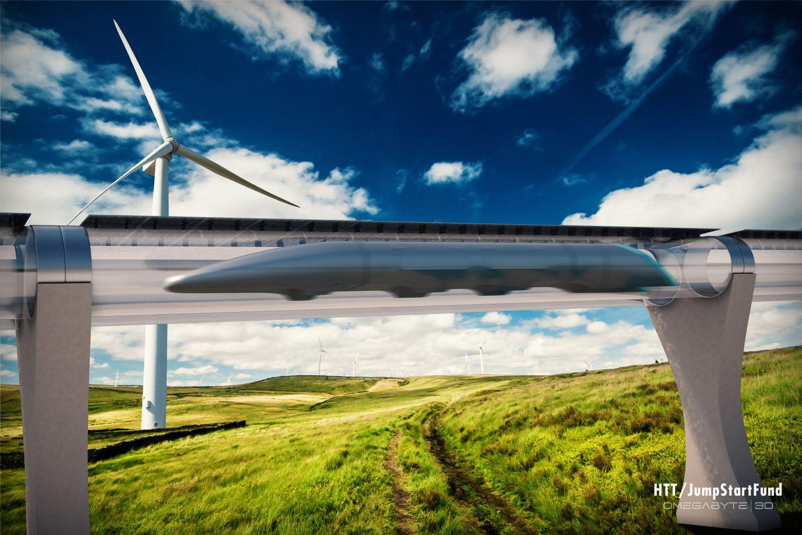 EINMALIGE VERWENDUNG Hyperloop