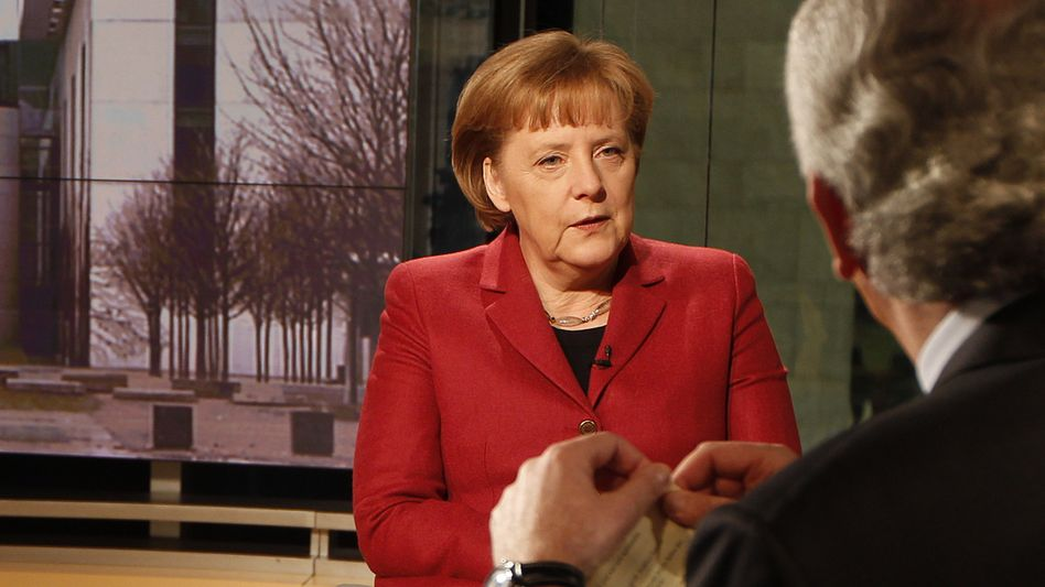 """Bundeskanzlerin Merkel in der ARD: """"Lösungen finden"""""""