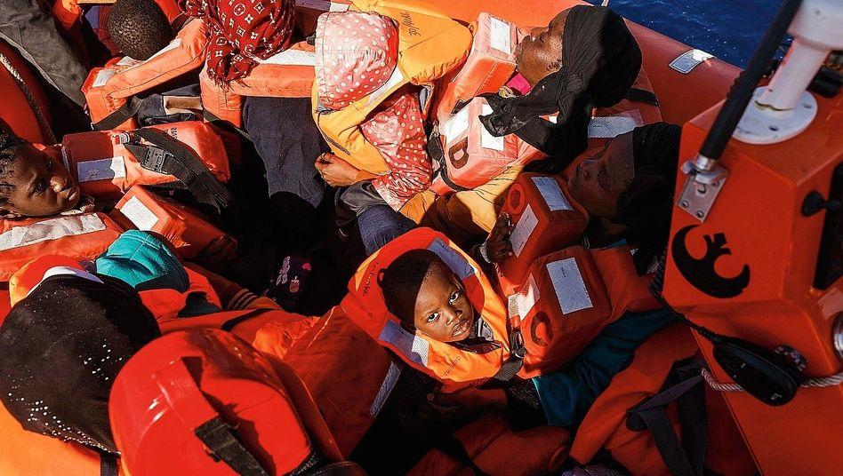 "Flüchtlinge vor der libyschen Küste: ""Besorgniserregend"""