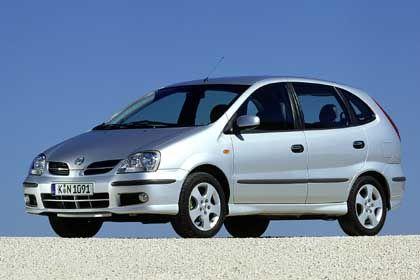 Sieger in der Kategorie Van: Nissan Almera Tino