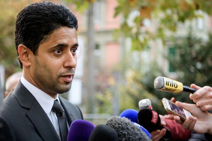 PSG-Boss Nasser El-Khelaifi