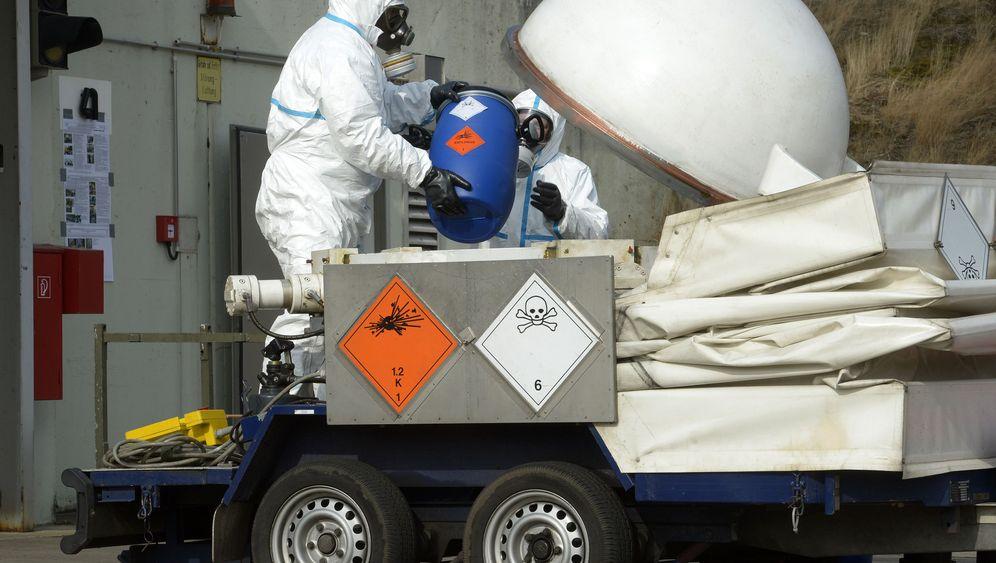 Chemiewaffen: Gift in der Heide