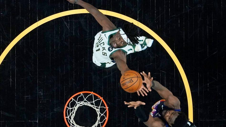Jrue Holiday war das fehlende Puzzleteil für die Milwaukee Bucks