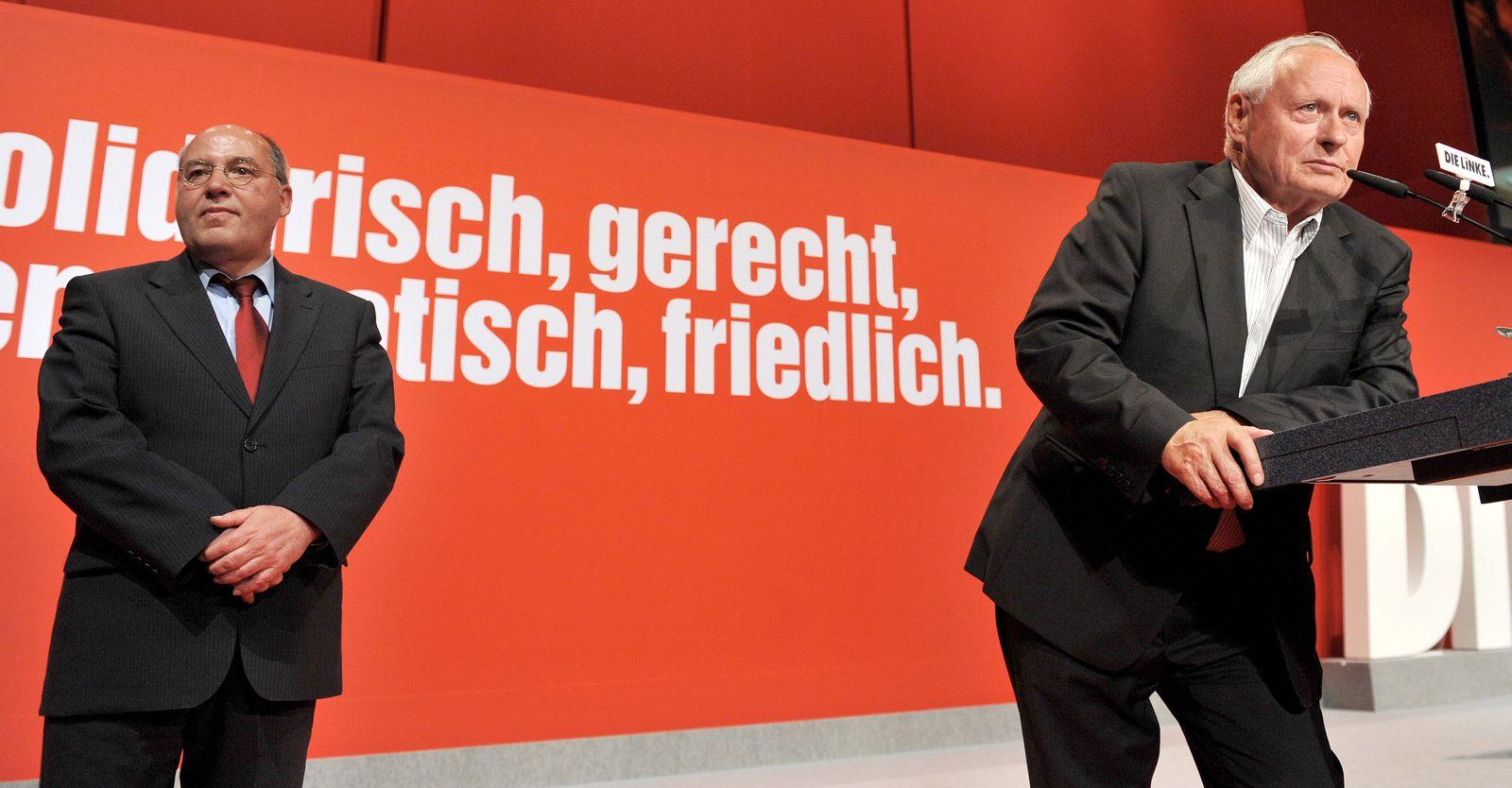 XXL Die Linke/ Bundesparteitag/ Lafontaine/ Gysi