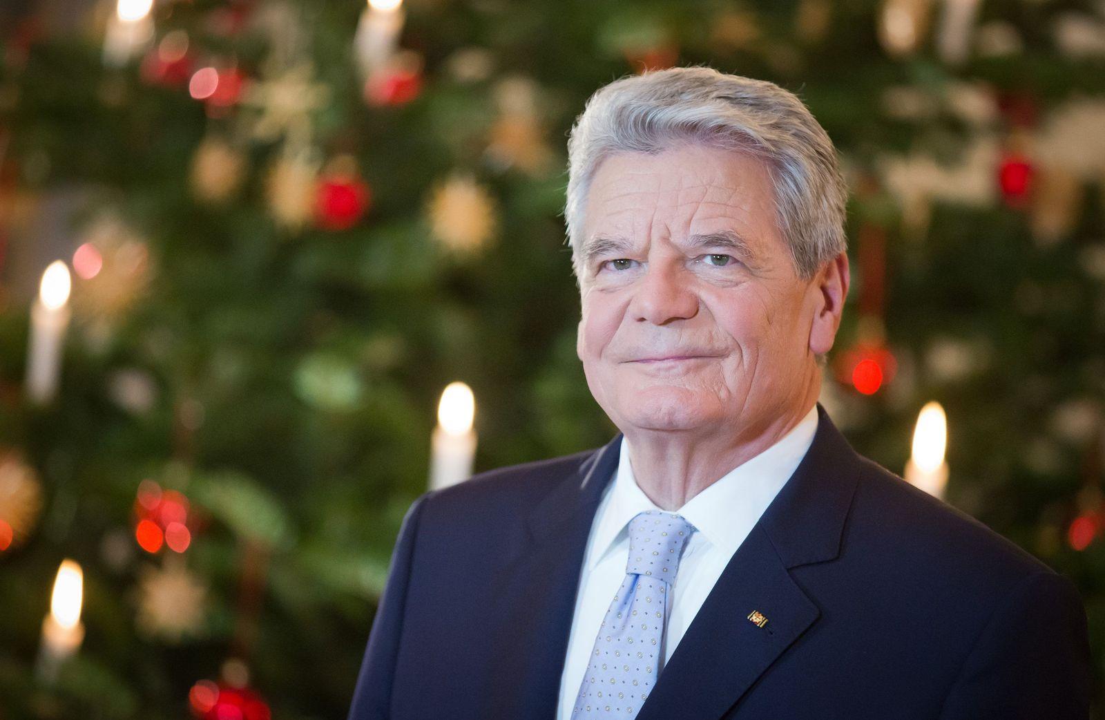 SPERRFRIST 24.12.2013 Gauck