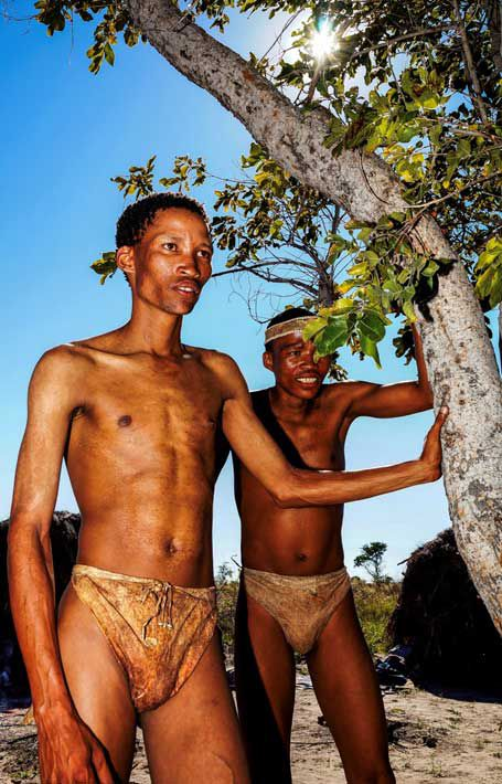 SPERRFRIST 15.10.15 18Uhr EINMALIGE VERWENDUNG San People/ Tsumkwe/ Namibia