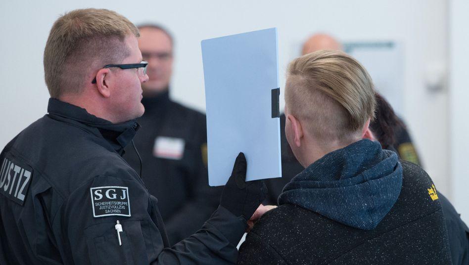 Angeklagte Maria K. in der Justizvollzugsanstalt in Dresden (Archivbild)