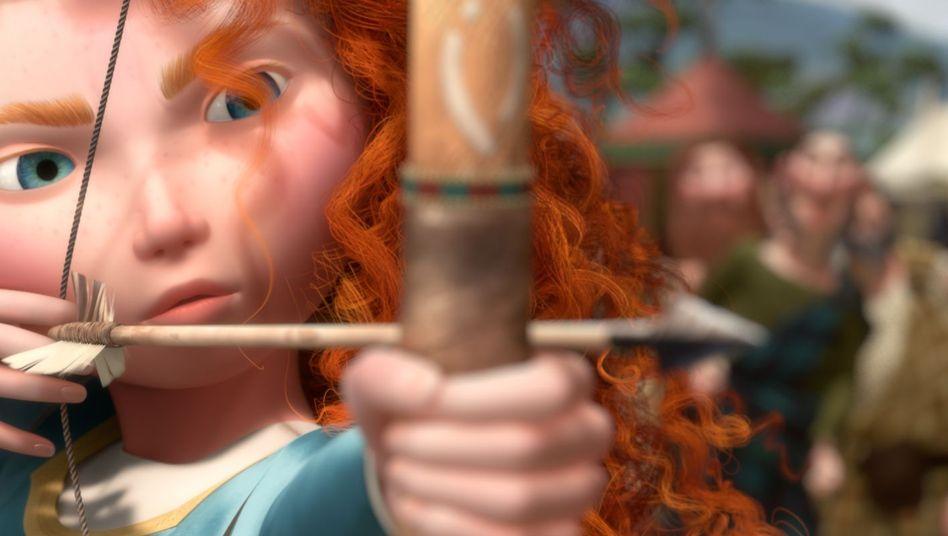 """Pixar-Märchen """"Merida"""": Ich binPrinzessin, Platz da!"""