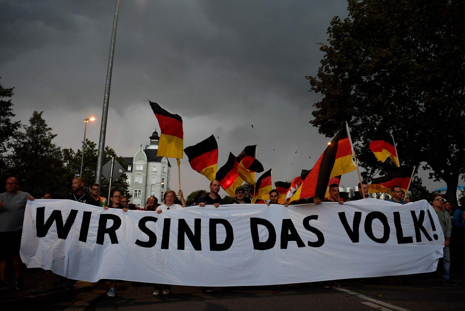 Deutschland/ Pro Chemnitz/ Demonstration