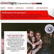 """Zeitgeschichts-Portal einestages: """"Webmagazin des Jahres 2008"""""""