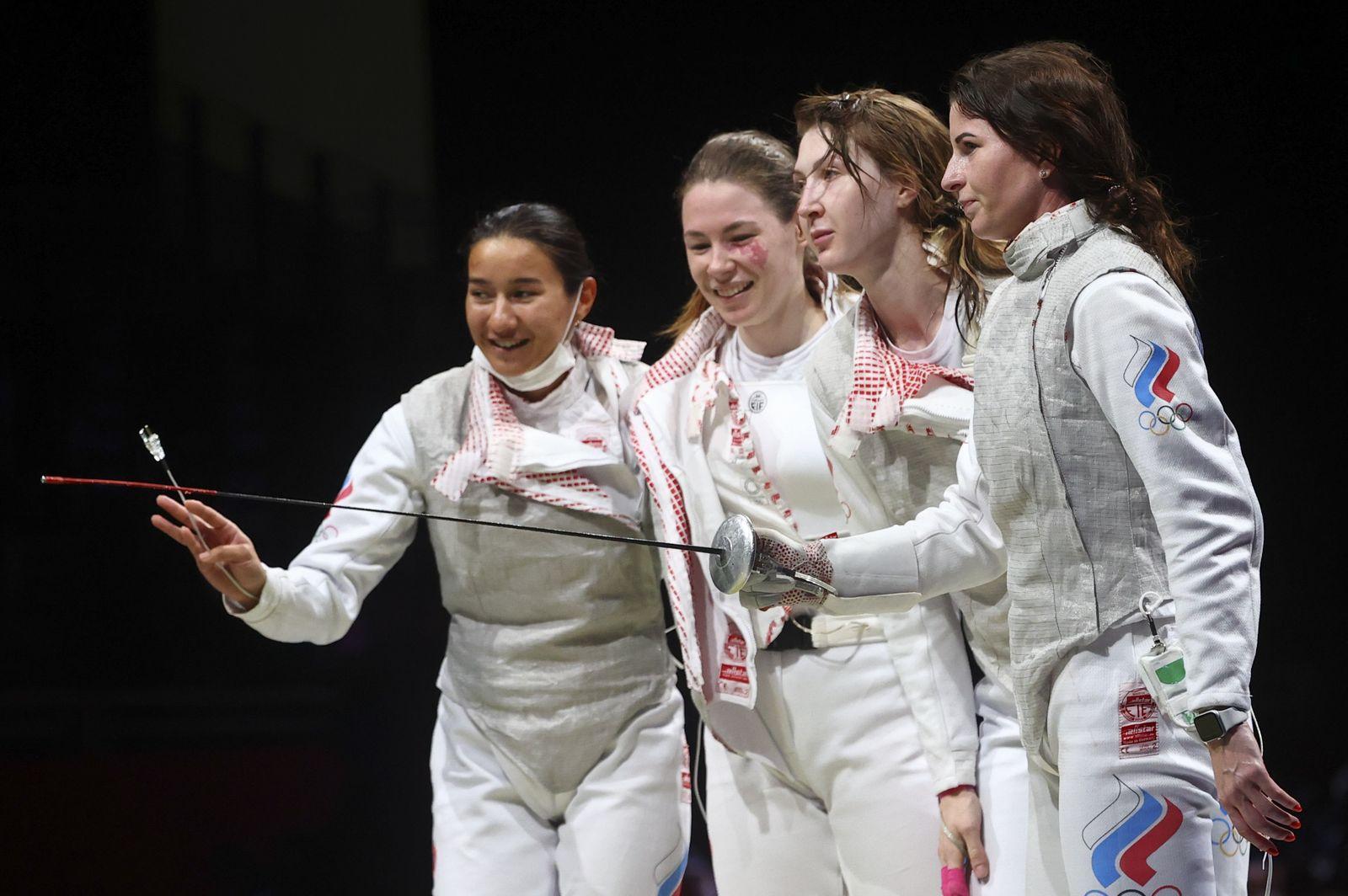 Fencing - Women's Team Foil - Semifinal
