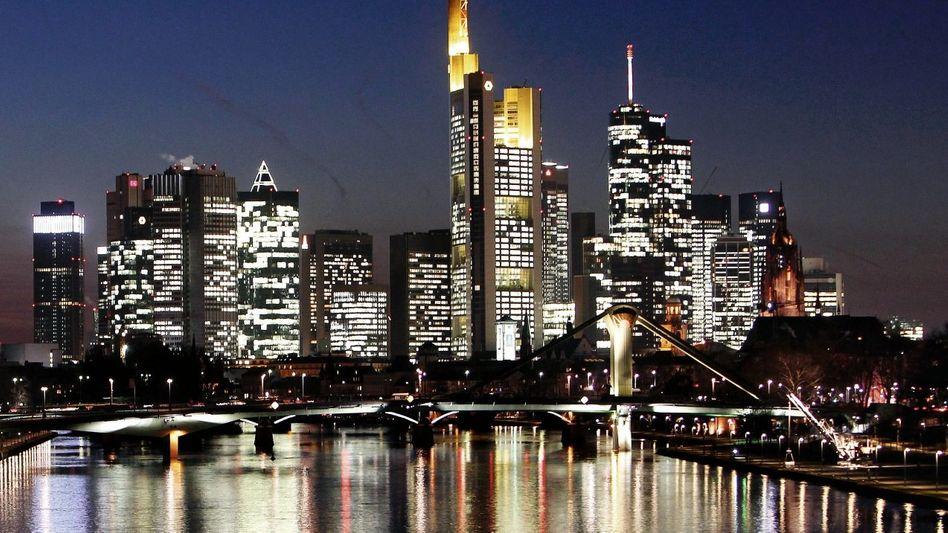 Banken-Skyline in Frankfurt am Main