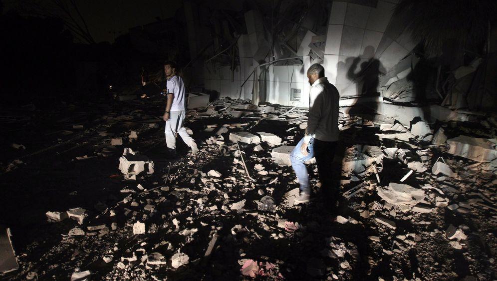 Tripolis: Die Diktatorenresidenz in Trümmern