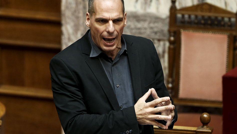 """Finanzminister Varoufakis: """"Wir müssen Tabula rasa machen"""""""