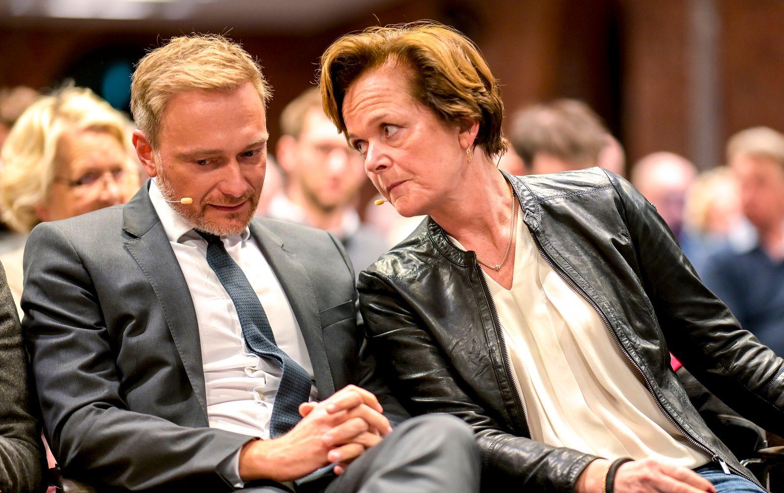 Wahlkampfveranstaltung der Hamburger FDP