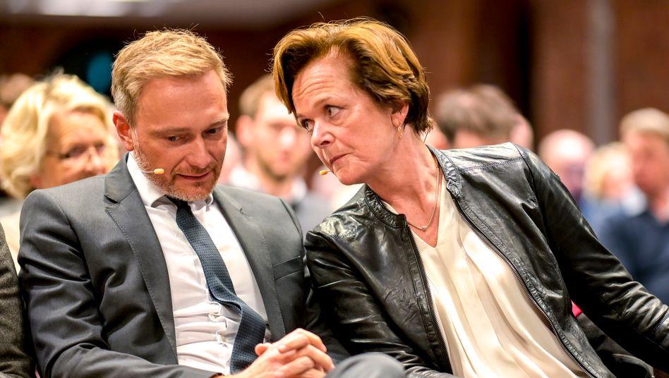 """FDP-Chef Lindner, Kandidatin von Treuenfels: """"Das ist kein Vergehen!"""""""