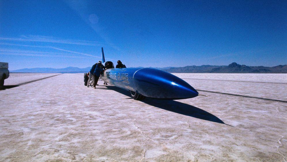Weltrekordfahrt: Rakete im Tiefflug